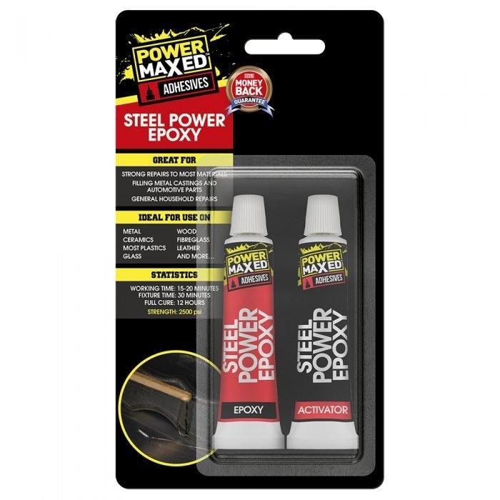 Power Maxed Steel Power Epoxy Tubes