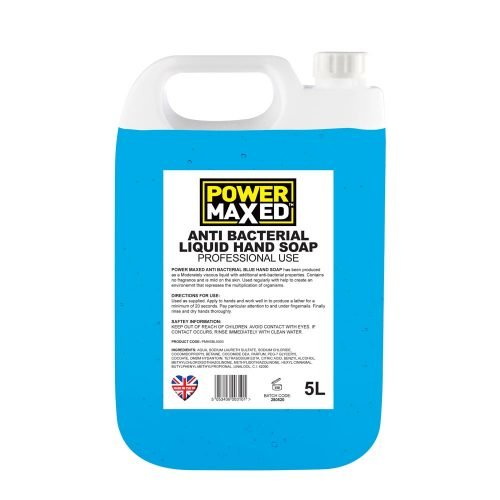 Power Maxed Blue Hand Soap 5ltr