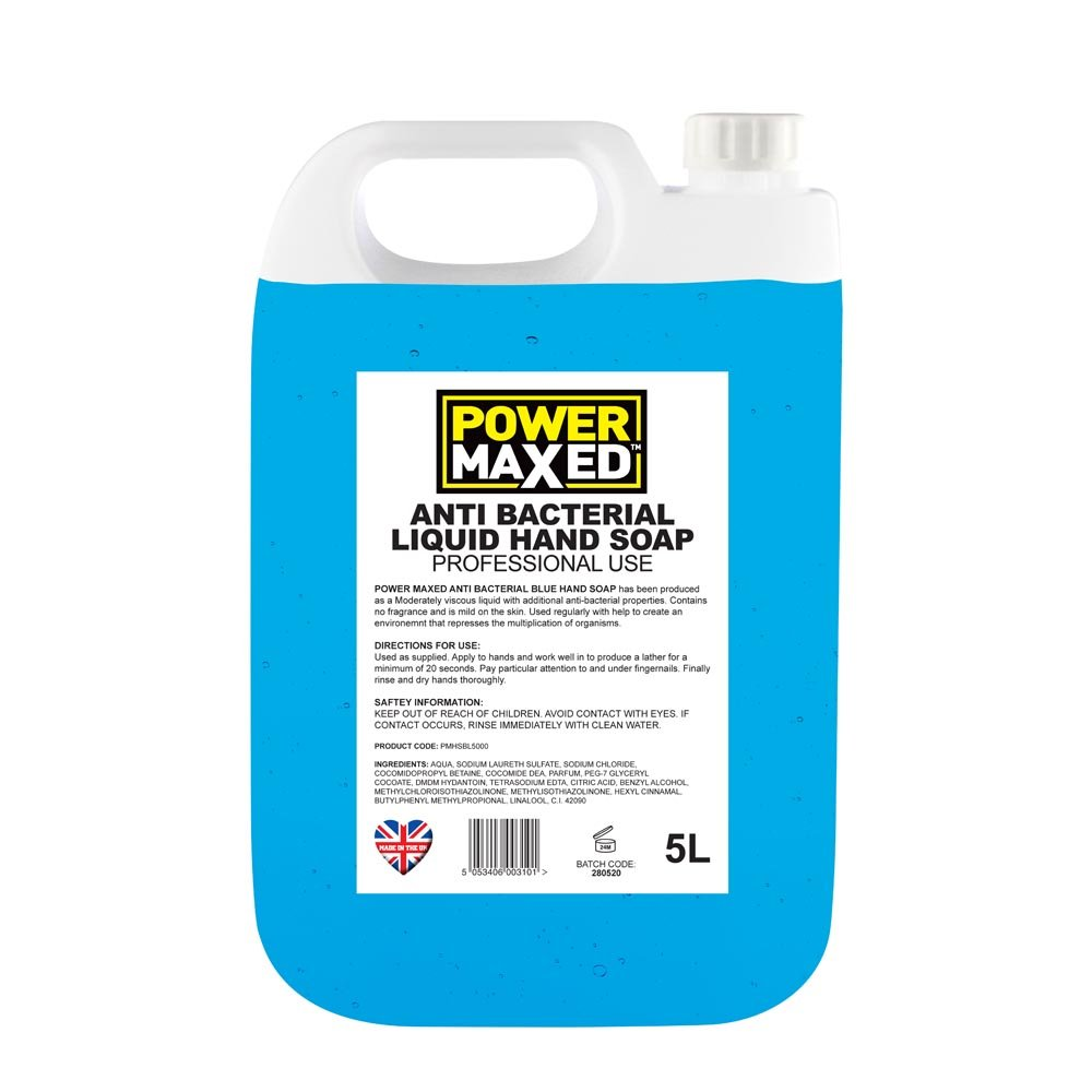 Power Maxed Blue Hand Soap 5ltr
