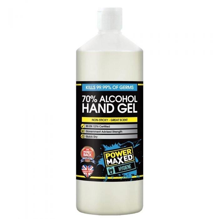 Power Maxed Hand Gel 1ltr