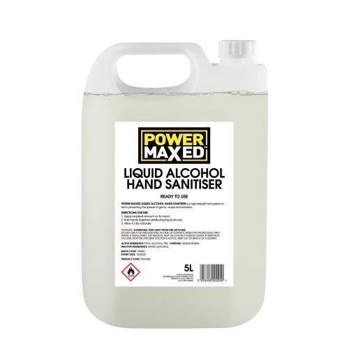 Power Maxed Hand Sanitiser liquid 5ltr