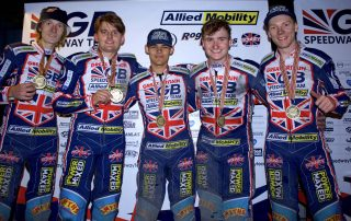 Power Maxed- GB Speedway Medals