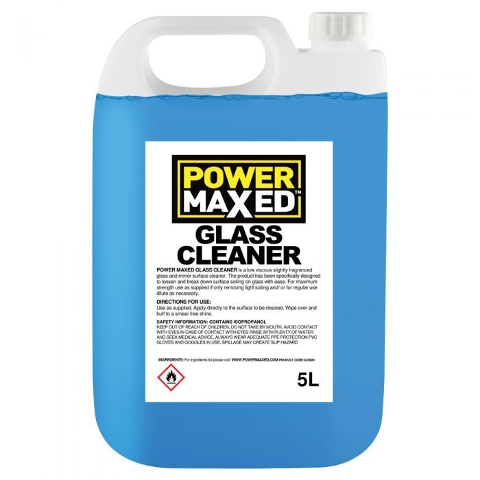 Power Maxed Glass Cleaner 5L