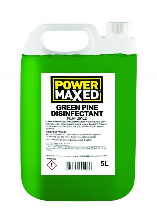 Power Maxed Green Pine Disinfectant