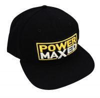 Power Maxed Black Baseball Cap