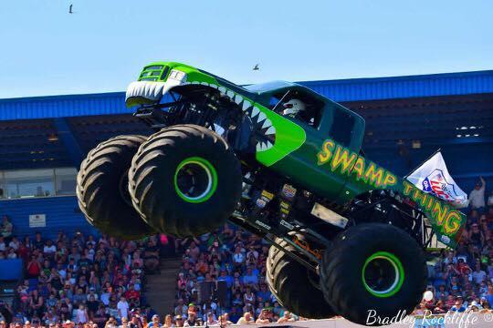Swamp Thing Jump