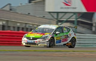 Jade Edwards at Silverstone