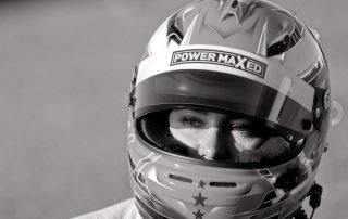 Power Maxed Racing in Monochrome