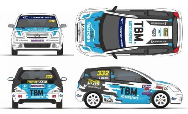 TMB. Motorsport Power Maxed Sponsored