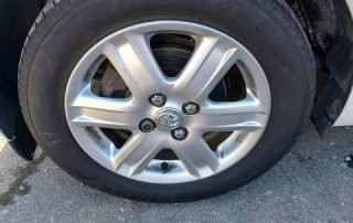 Wheel and Tyre After