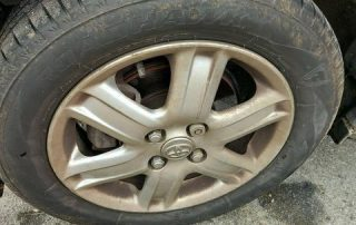Wheel and Tyre Before
