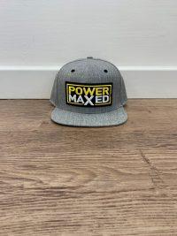 Power Maxed Grey Cap
