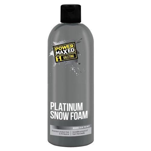 Power Maxed Platinum Snow Foam