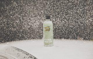 Platinum Snow Foam Being Usesd